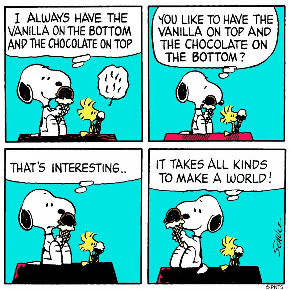 Snoopy Vanilla Comic