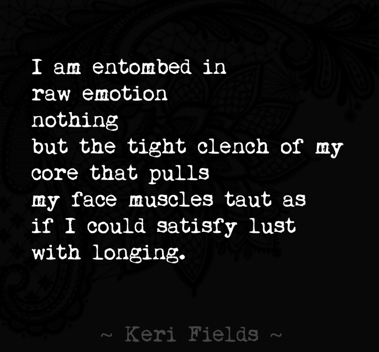 Poem LOST IN THOUGHT Quote by Keri Fields